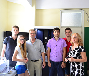 Just a few of the people from our team. From the left to the right: Gabi, Dada, Adi, Radu, Paul and Dorina