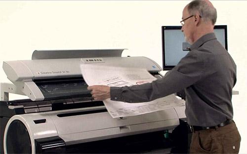 Scanne Stort Format - A0, A1, A2