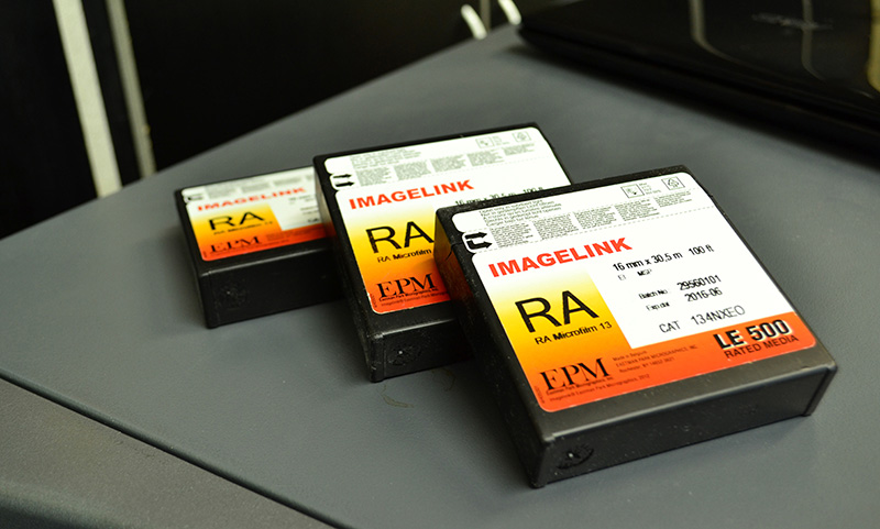 Microfilmage - Services - Microfilm