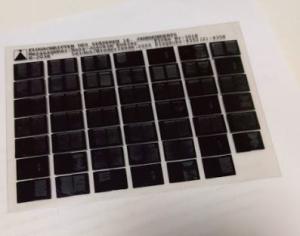Microfilm vs microfiche - Image of a standard microfiche