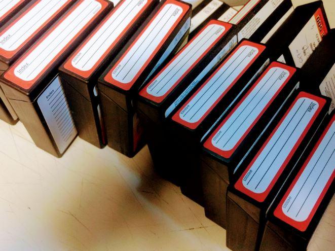Microfilming Records - 16mm Microfilm Rolls