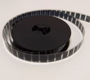 What is microfilm - Picture of a 16mm microfilm roll