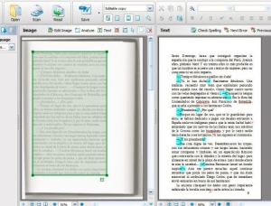 Convert microfilm to PDF - OCR of the image file and conversion to PDF