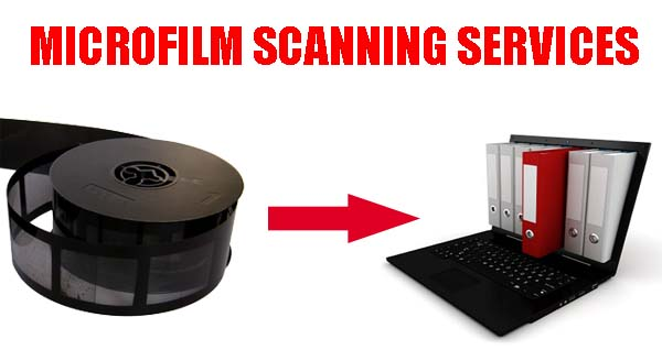 Microfilm scanning services - Conversion of microfilm to digital format