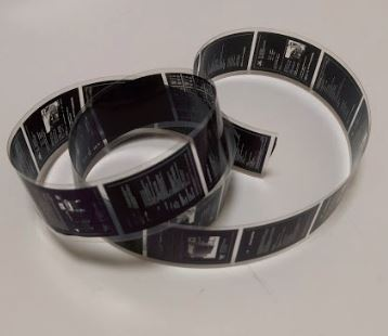 Types of microfilm - Picture of 35mm Microfilm Roll