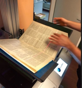 Best Way to Scan A Book - Step 2 - The actual scanning of the book