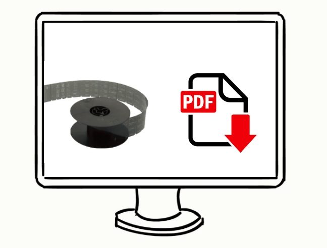 Digitize Microfilm - Picture of a microfilm roll converted to PDF