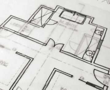 How to scan large documents - Example of transparency drawing for buildings