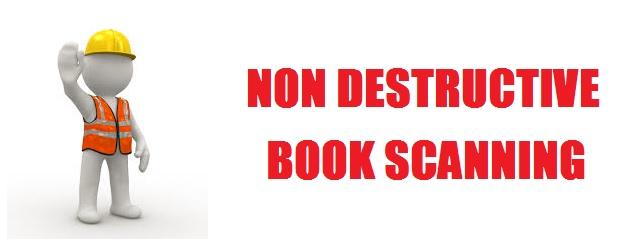 Non destructive Book scanning - Scanning books without damage