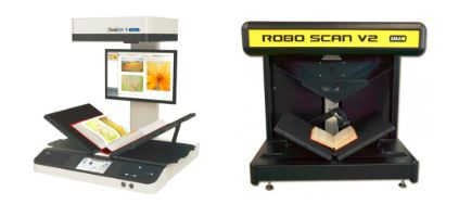 Book scanning machine - How to scan a bound book