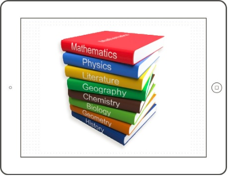 Textbook scanner - 3 ways to convert your books and textbooks - Picture of school textbooks
