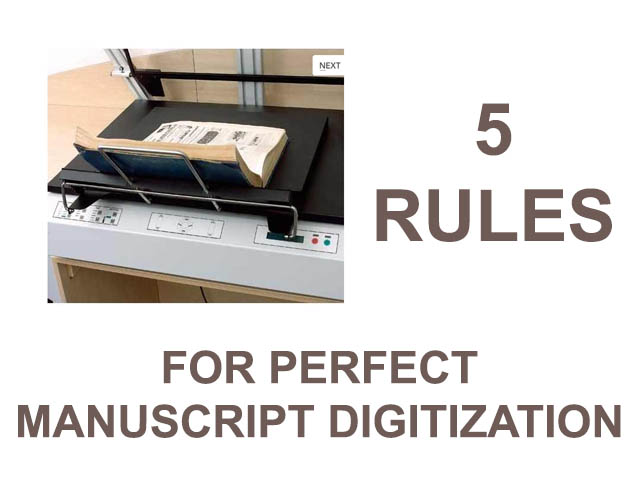 Perfect manuscript digitization
